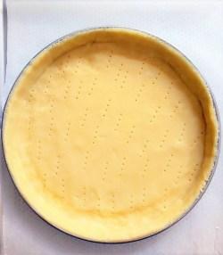 pâte sucrée pour tarte