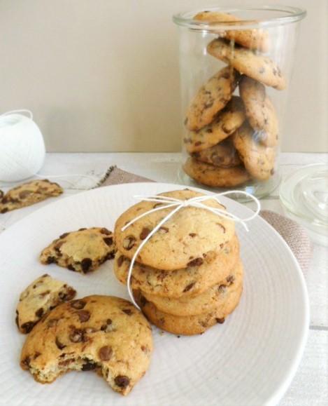 cookies américain aux pépites de chocolat