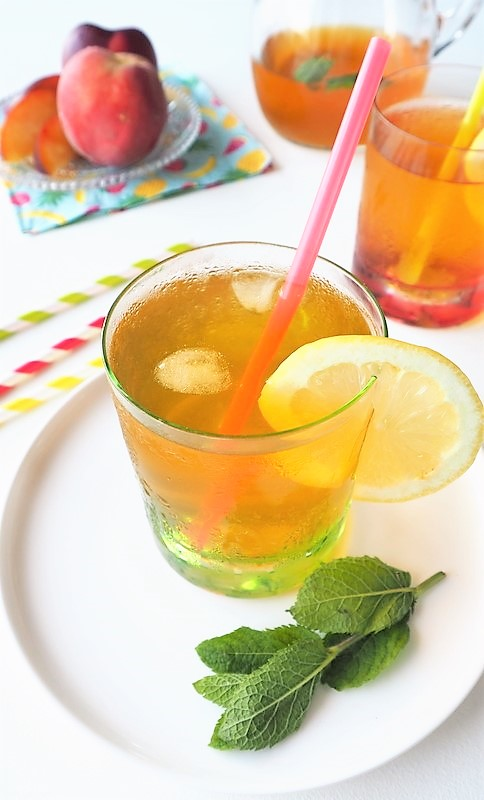 comment préparer un thé glacé