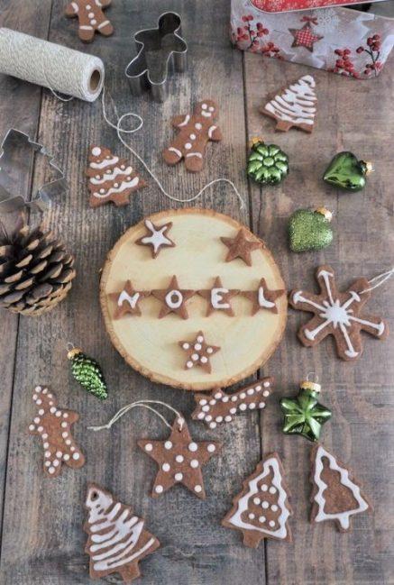 sablés de Noel au chocolat