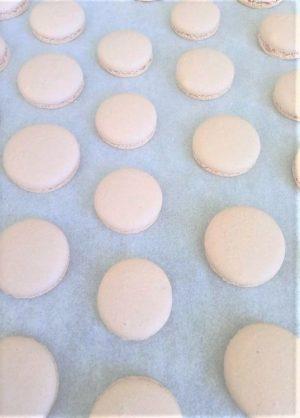 macarons après cuisson