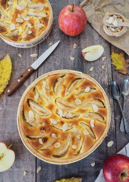 recette de la tarte normande aux pommes