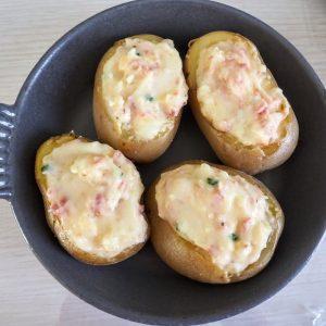 pommes de terre farcies au reblochon