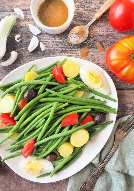 salade de haricots verts