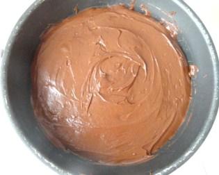 tarte fondante chocolat