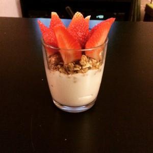 Déjeuner ou dessert simple et efficace pour une alimentation saine!