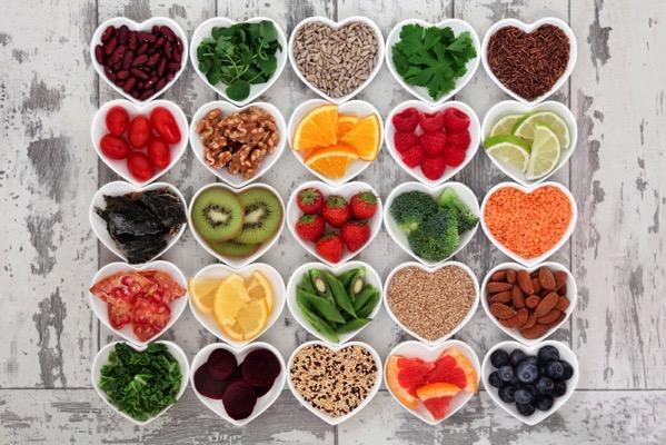 Voici quelques super-aliments. Miam!