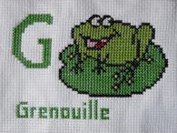 Imagier grenouille