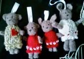 Mini ours & lapins / Mini bears & bunnies