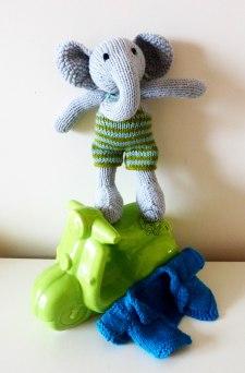 Tricot éléphant Les Petits