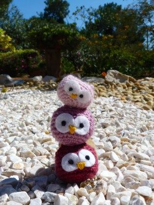 crochet chouettes Les Petits