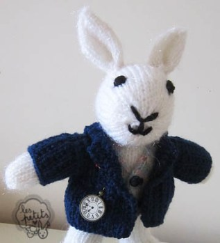 Les Petits lapin tricoté