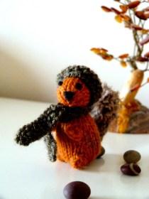 Les Petit écureuil tricot