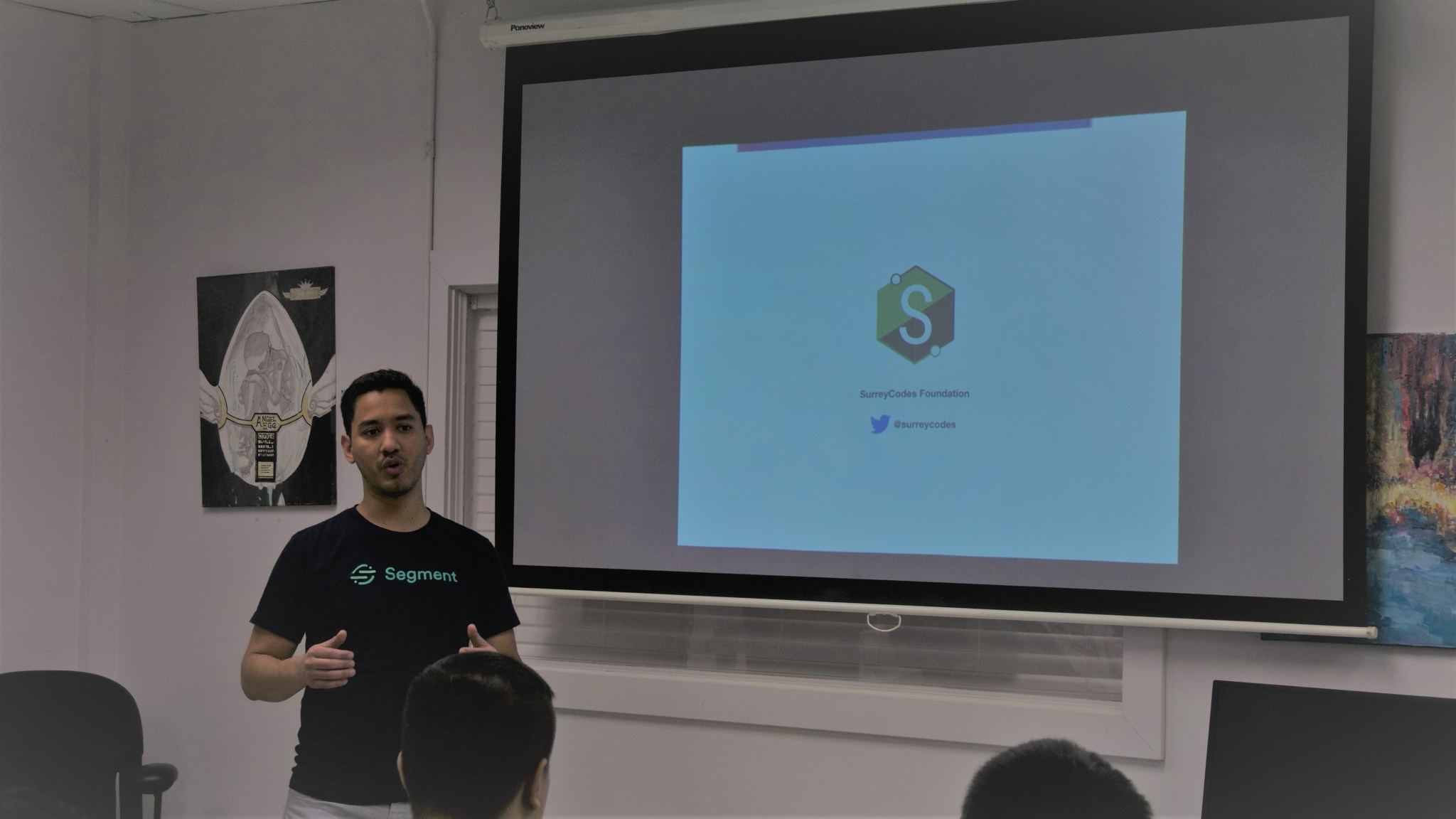 Luis Espinal - Product Manager presenting