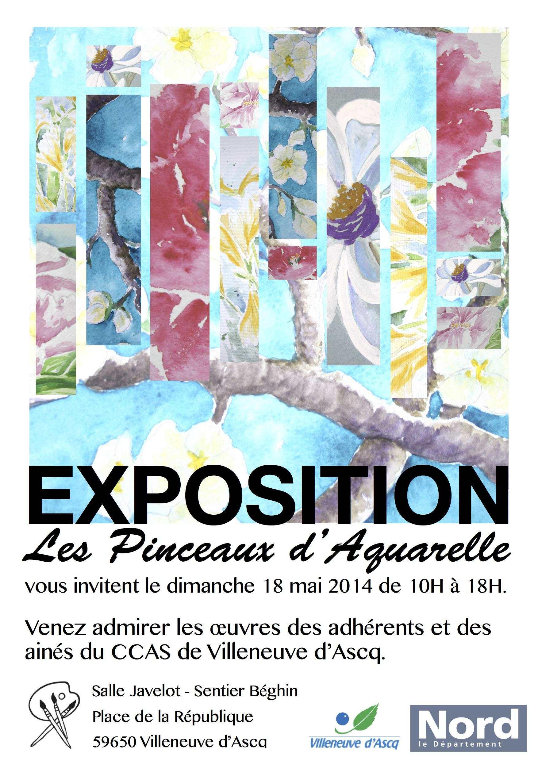5 Expositions Le Blog Des Pinceaux DAquarelle