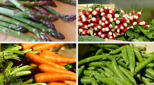 Cap sur les légumes de printemps !