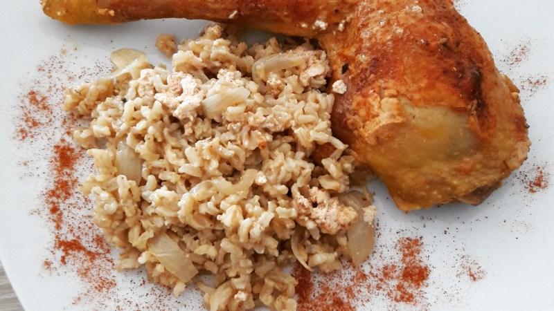 Cuisses de poulet grillées façon tandoori