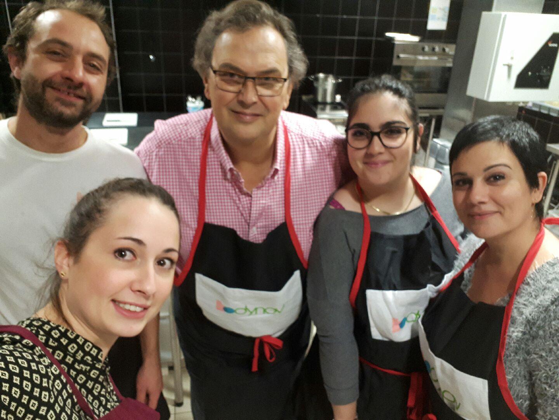 Un atelier cuisine haut en couleurs au centre Bodynov !