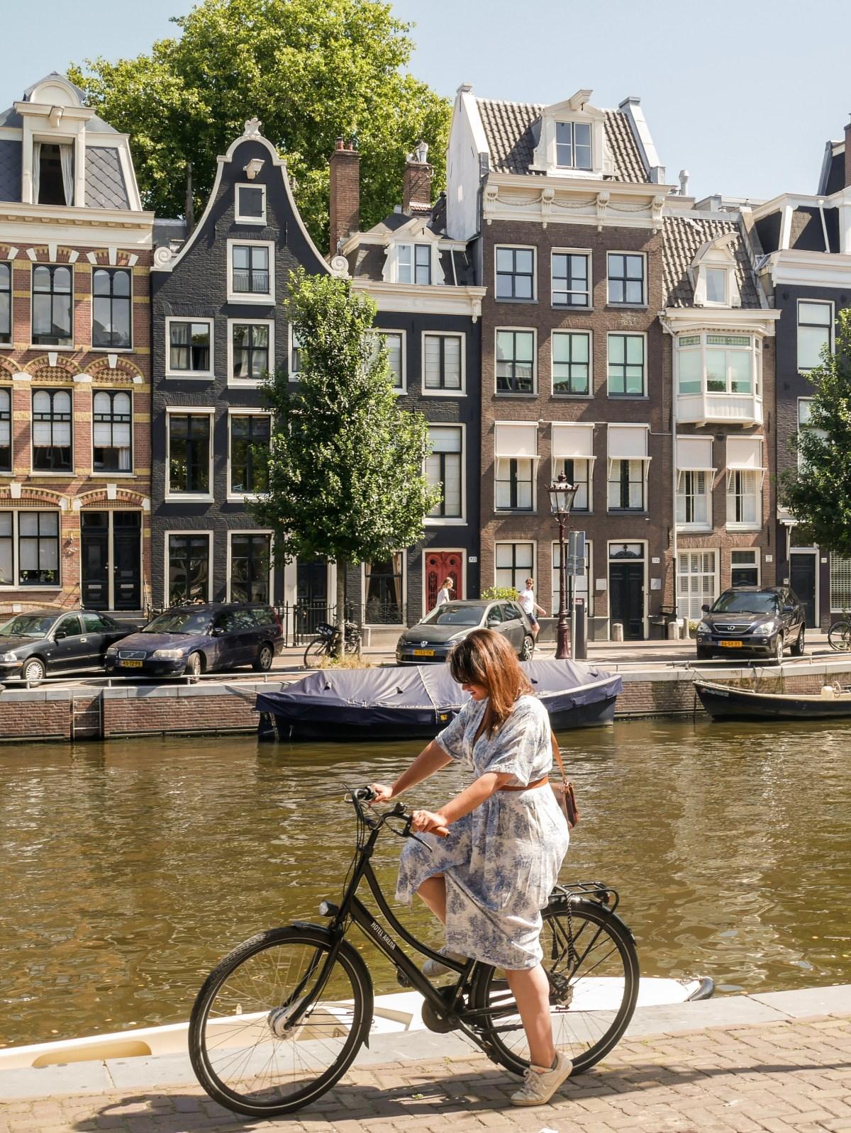 Amsterdam slow, à vélo