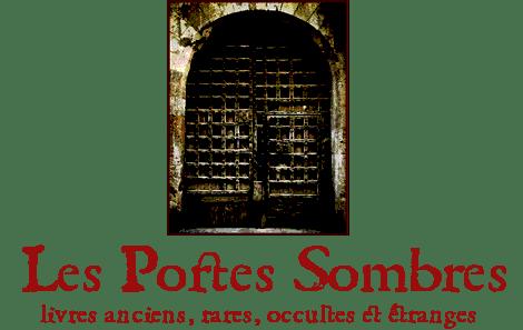 logo Librairie Les Portes Sombres livres anciens occultes étranges sorcellerie démonologie