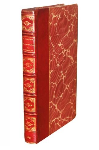 ROCHAS, L'Extériorissation de la sensibilité , étude expérimentale et historique, Paris, Chamuel, 1895