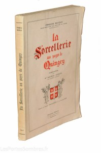 BAVOUX, La Sorcellerie au pays de Quingey, 1947