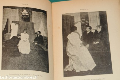 AKSAKOW, Un cas de dématérialisation partielle du corps d'un médium, Paris, Librairie de l'art indépendant, 1896