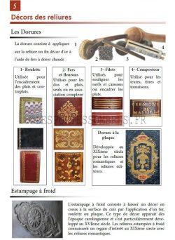 Guide du bibliophile : Le Décor des reliures