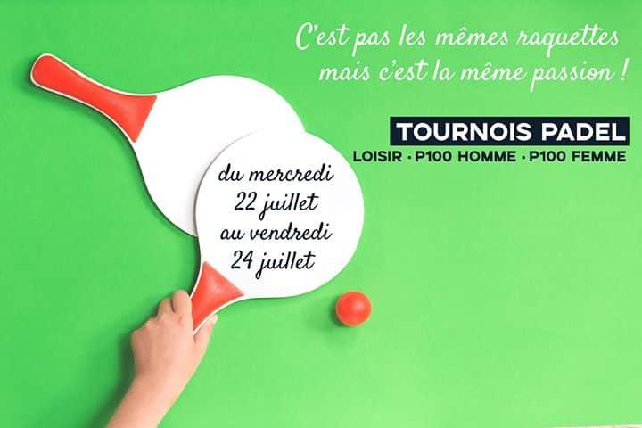 Photo Tournoi de padel Loisir & P100