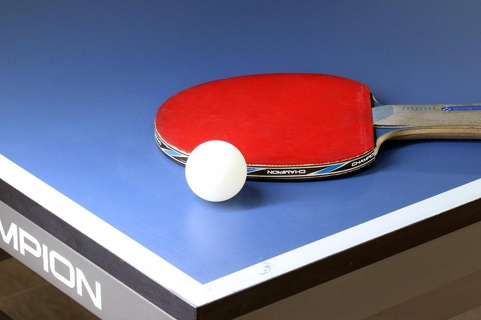 image tennis de table
