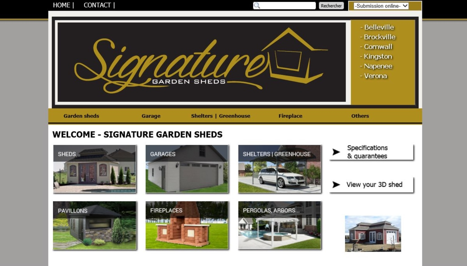 Signature Garden Shed