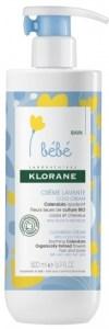 crème lavante au cold cream calendula bébé klorane lesptitesmainsdabord