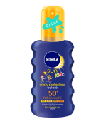 spray protecteur coloré enfants fps 50+ nivea sun