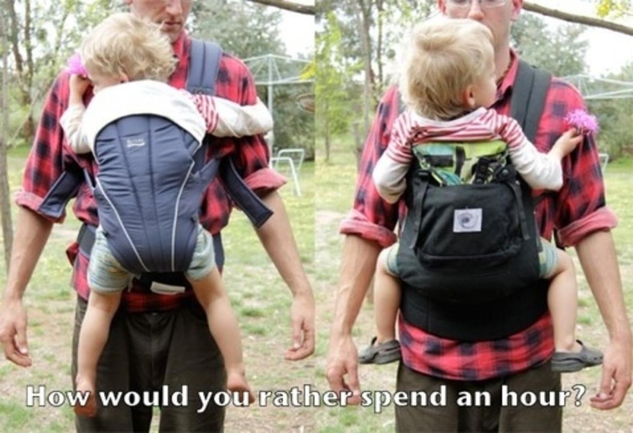 Comment porter bébé ?