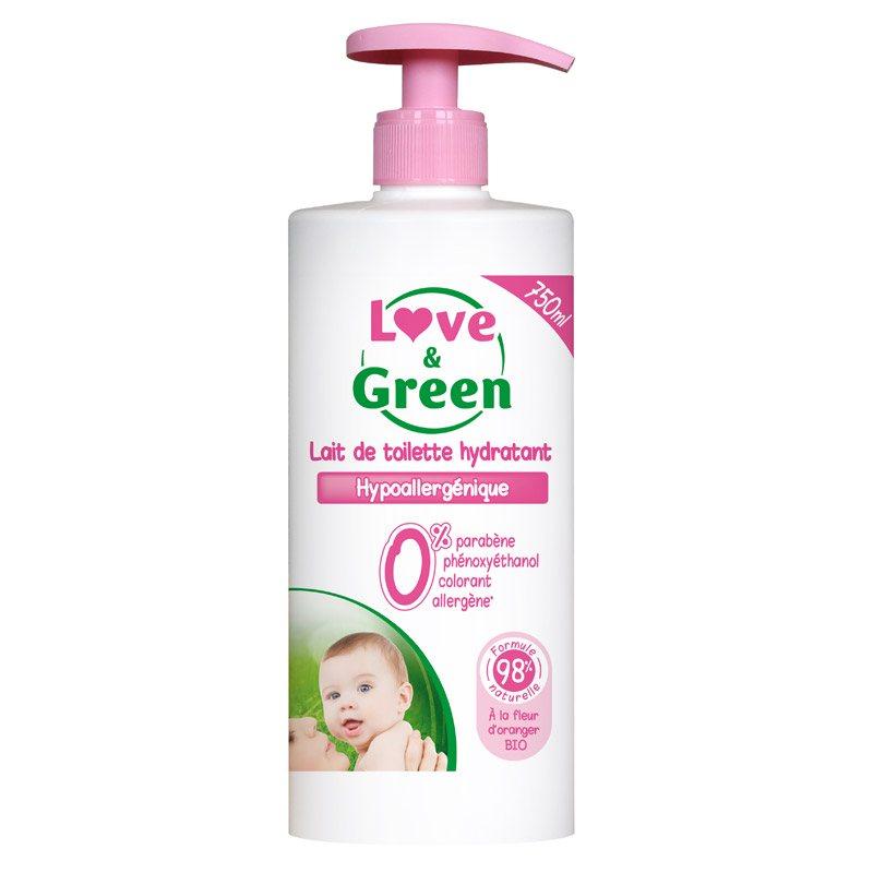 Lait de toilette Love & Green