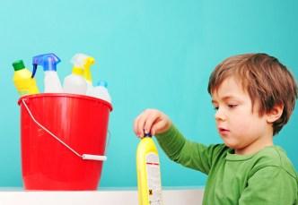 accident domestique enfant ménage écologique