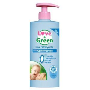 eau nettoyante bébé bio love and green