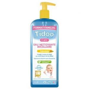 eau nettoyante micellaire bébé bio tidoo