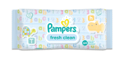 Lingettes bébé Pampers fresh clean
