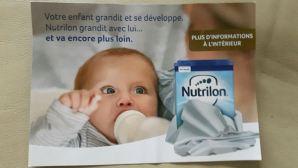 nutrilon anti allaitement