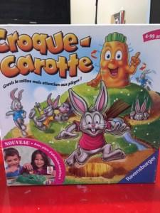 Croque-carotte cadeau quatre ans