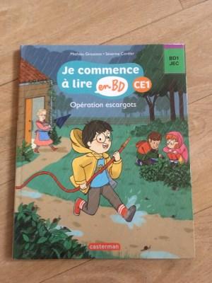 sélection de livres niveau CE1 je commence à lire en bd ce1
