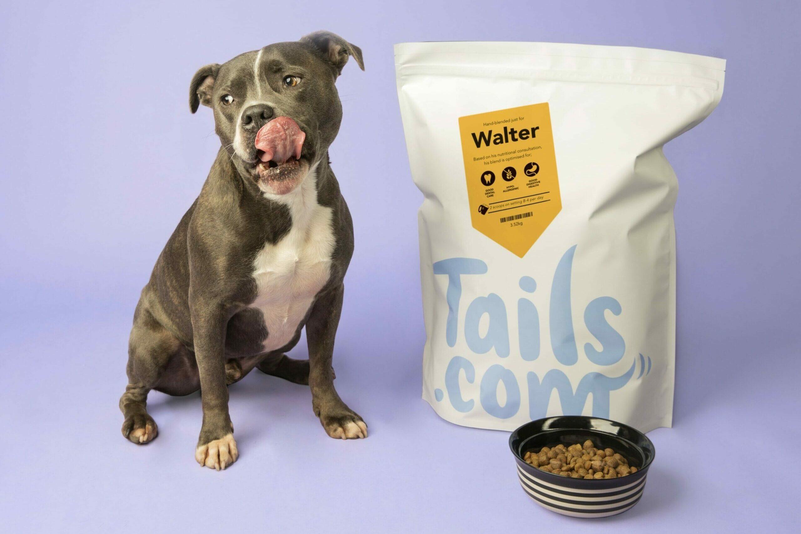 Tails croquettes pour chien