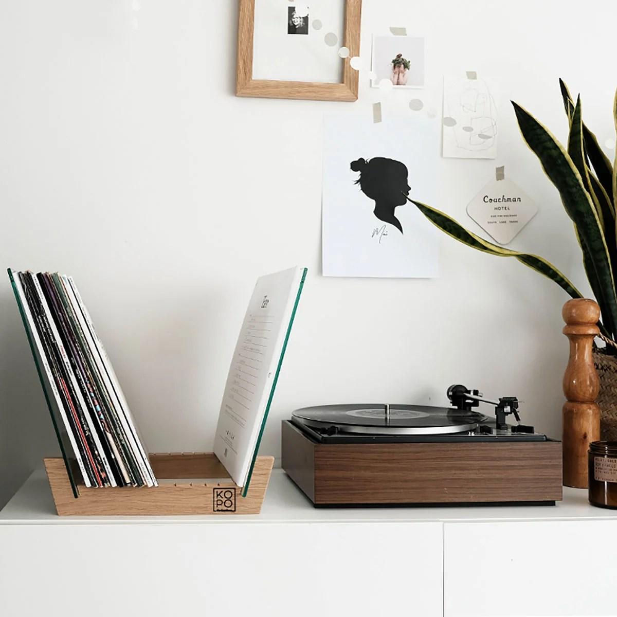 rangement a vinyles