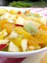 Salade de fruits vanillée