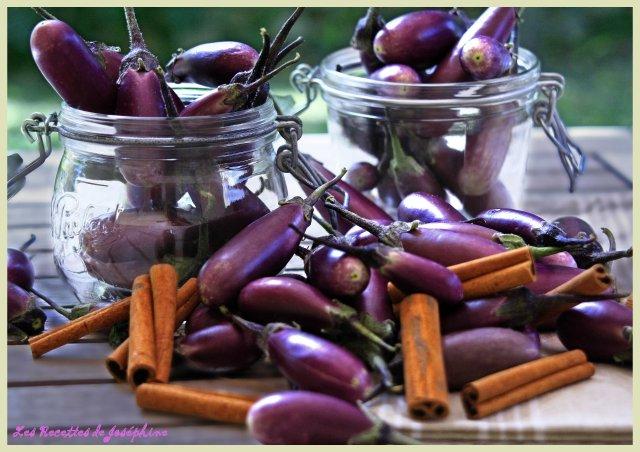 Confiture d'aubergine 1
