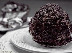 Boules aux meringues au chocolat