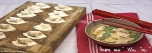 Soupe aux pâtes Won Ton