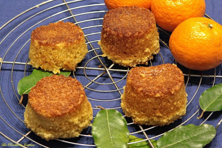 Gateau à la Mandarine et aux kumquats confits