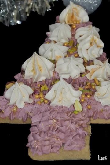 Gâteau sapin pour Noel